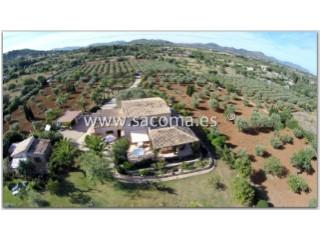 Mallorca, Son Carrio, Finca con Vistas al mar y Apto de invitados   3 Habitaciones