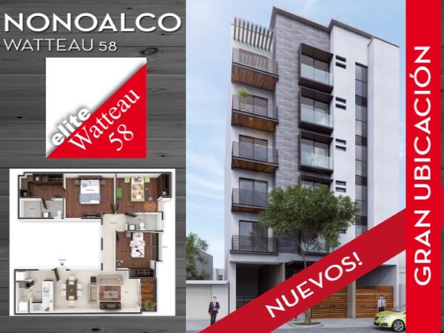 Departamento 3 Habitaciones › Santa Maria Nonoalco