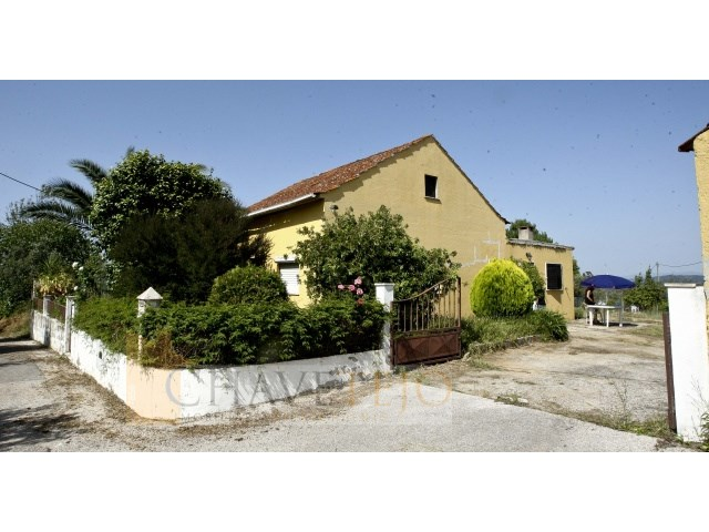 Moradia c/ quatro quartos e boas vistas, perto de Dornes