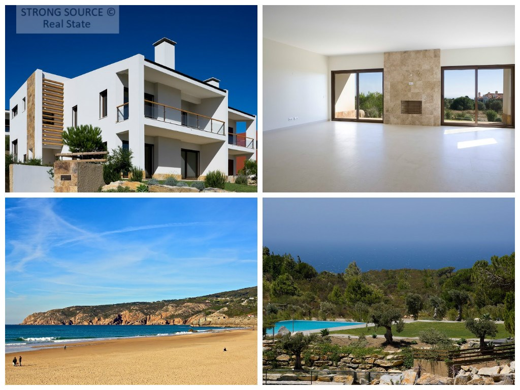 Villas in the nature with sea view, Cascais