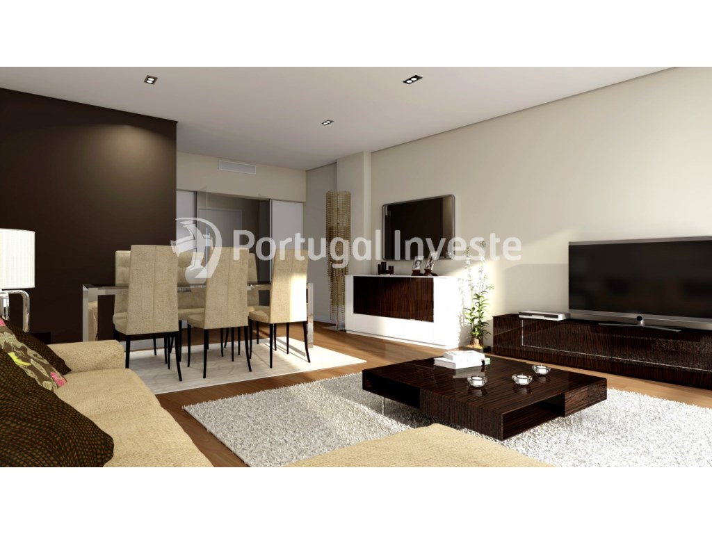 For sale 4 bedrooms apartment, new, box, Liberty Atrium Residence, 10 minutes from Lisbon downtown - Portugal Investe