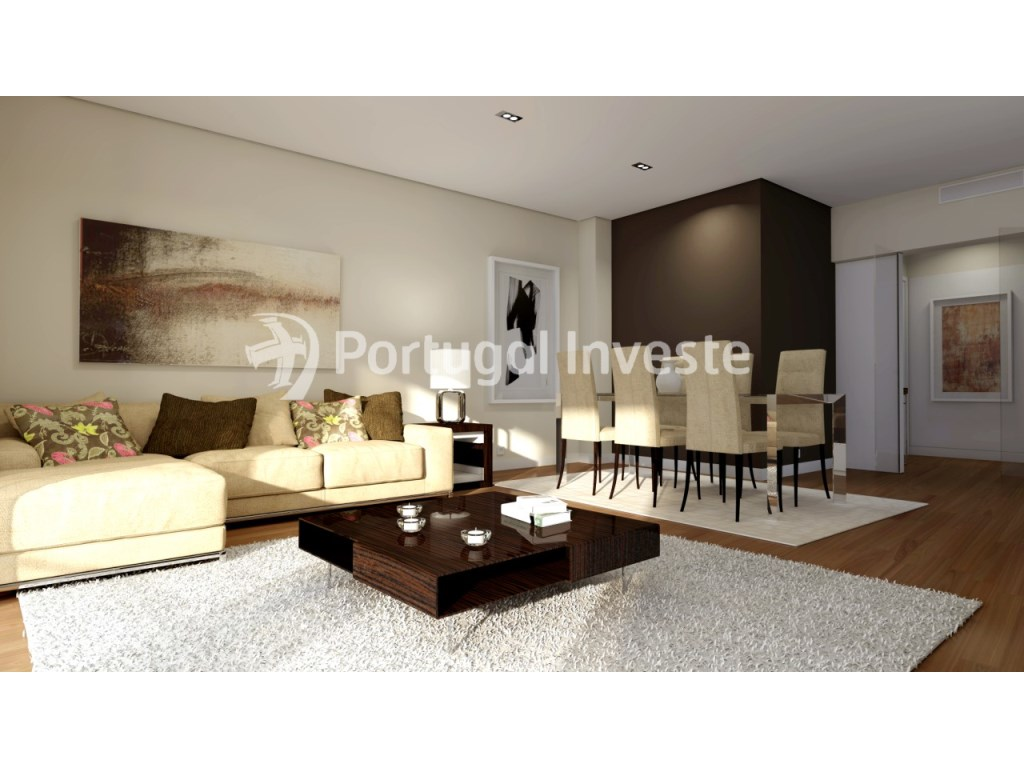 Living room - Apartment T3 novo in Almada - Portugal Investe