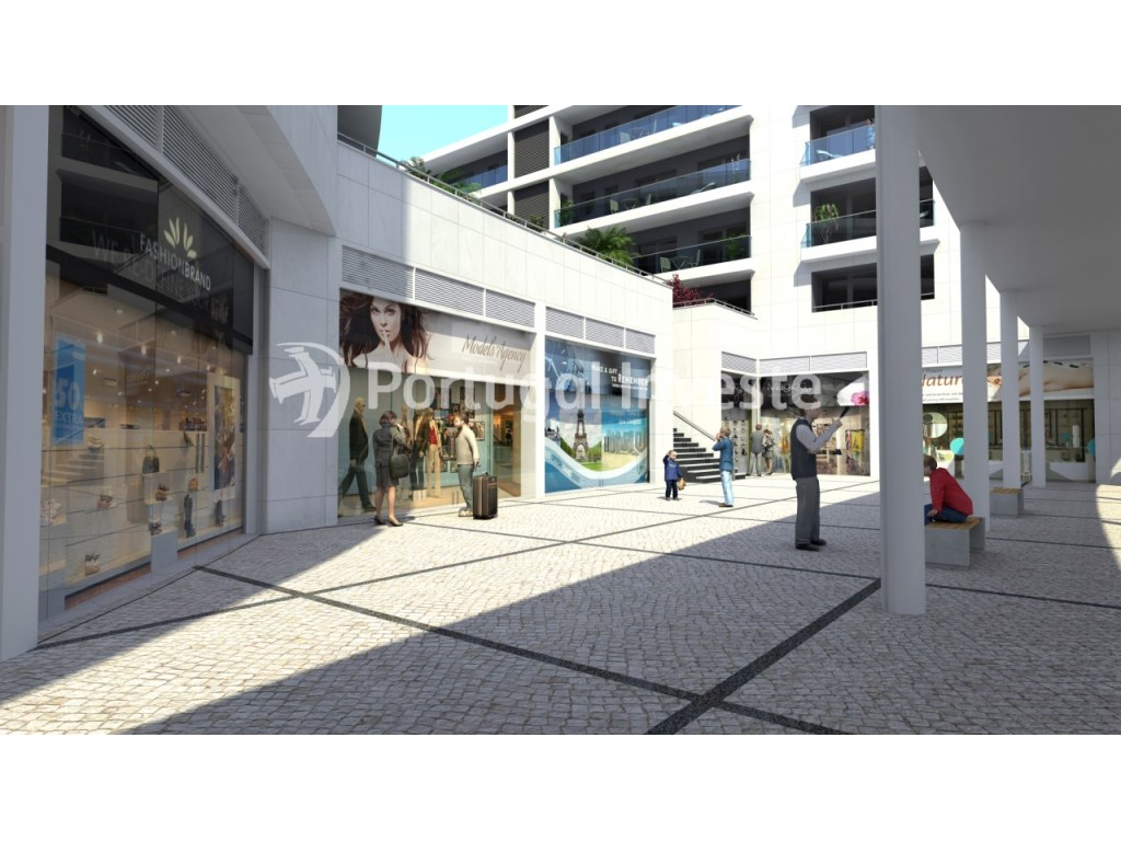 Store nicely located in the Liberdade Atrium Enterprise, Almada, Lisbon - Portugal Investe