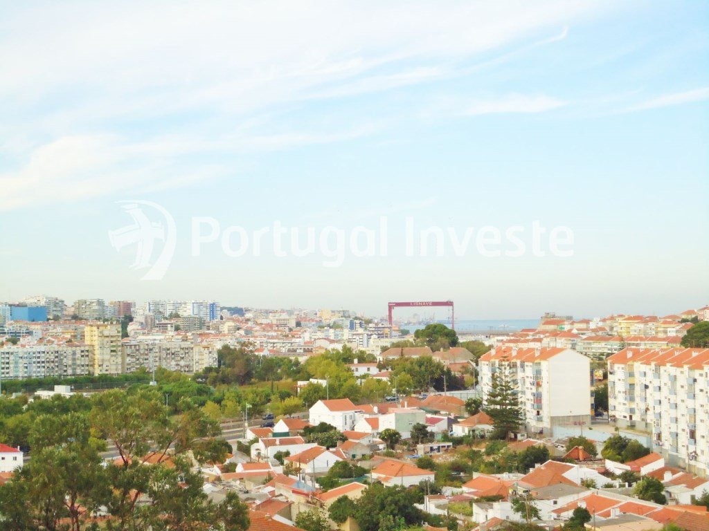 For sale 3 bedrooms apartment, storage, beautiful view, 10 minutes away from Lisbon - Portugal Investe