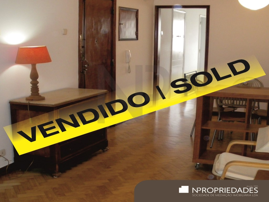 Saldanha, Avenida Defensores de Chaves, 1 bedroom apartment sold