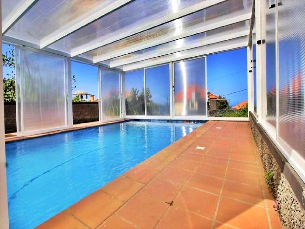 Typische Madeira Haus Zu Verkaufen Mit Schwimmbad Calheta Haus