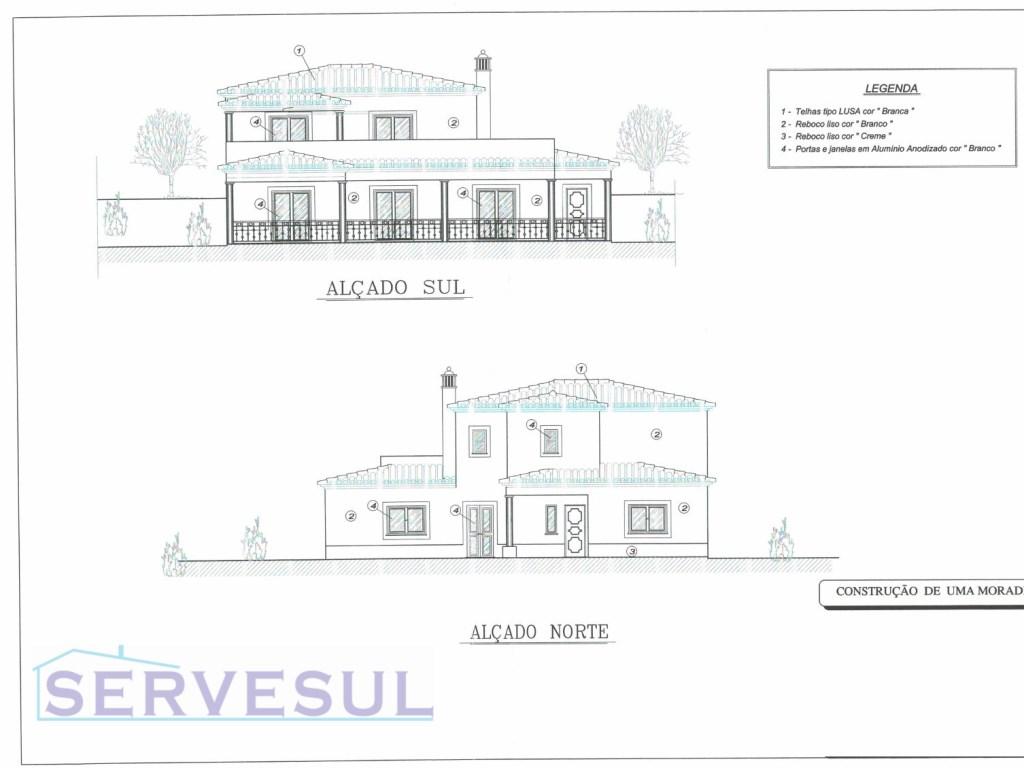 1c93da9438018 Lote de terreno com projecto aprovado para construção de moradia T4 ...