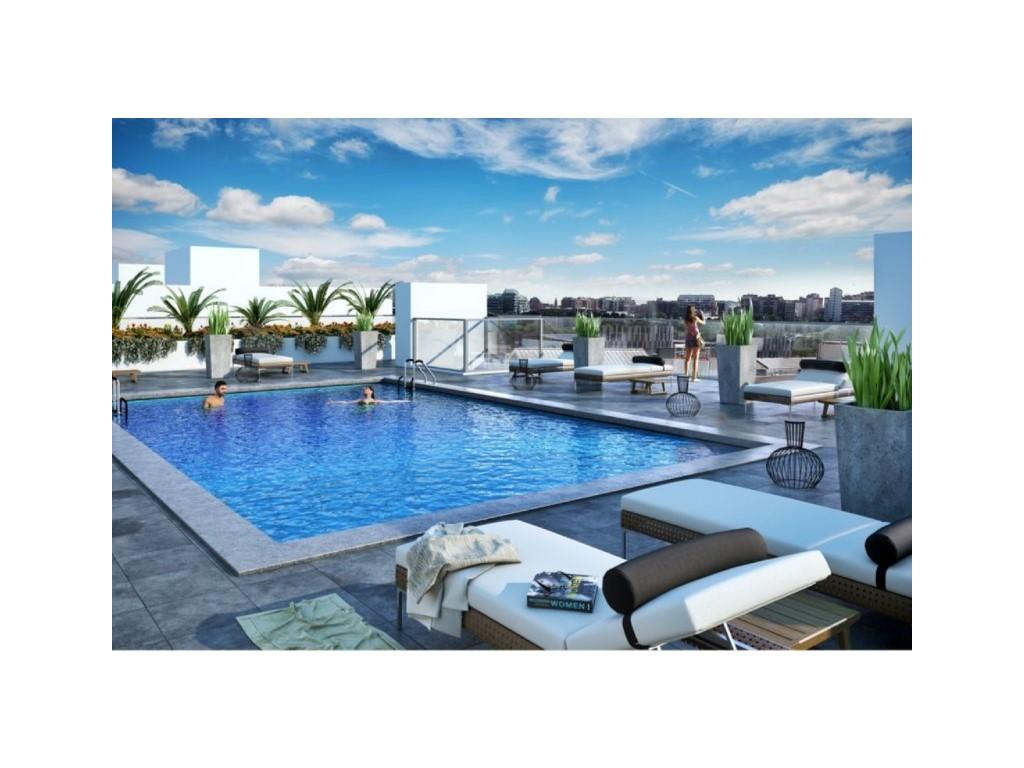 Zwembad Op Dakterras : Nieuwe appartementen met zwembad op dakterras albasto real