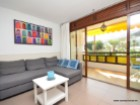 For rent in Puerto Rico, Gran Canaria. With two bedrooms, two bathrooms, living room, kitchen, garden and terrace. | 2 Bedrooms | 1WC