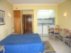 Living room and bedroom Studio in Albufeira in condominium with swimming pool%5/7