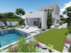 Promotion of four semi-detached houses with sea views in Lomas de Cabo Roig, Orihuela Costa. | 3 Bedrooms | 1WC