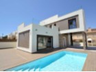 New residential complex of luxury villas just 200 meters from the sea in Torrevieja. | 3 Bedrooms