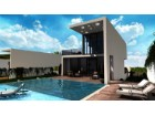 Villas with panoramic views - facade and pool%1/7