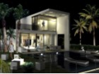 Villas with panoramic views - night view%3/7