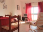 Living room, 1 bedroom apartment equipped and furnished, Portimão, Algarve - Portugal Investe%4/12