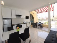 renovated apartment in quiet complex san Eugenio Alto | 1 Bedroom + 1 Interior Bedroom | 1WC