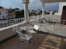 balconies of 6 bedroom pool villa in Albufeira, Algarve, Portugal%27/32