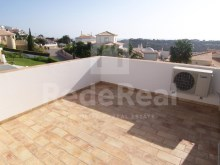 rear view terrace-4 bedroom villa in privileged area of Albufeira%23/29