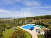 5 BEDROOM DETACHED HOUSE for SALE in SILVES, ALGARVE, with PANORAMIC VIEWS for field.