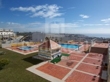 View from balcony Studio apartment with sea view in Algarve%1/6