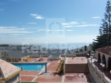 View from balcony Studio apartment with sea view in Algarve%2/6