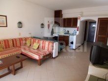 Living room Studio apartment with sea view in Algarve%3/6