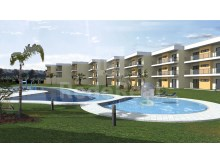 New and modern apartment is situated in an exclusive condominium in Albufeira.