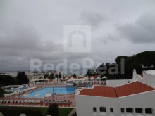 For sale one-bedroom apartment in good condition with sea view and downtown Albufeira