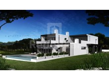 Villa under construction with four bedrooms, located in the Vila Sol Enterprise for sale in the area of Vilamoura, Loulé.
