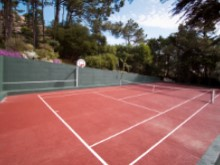 Tennis Court w Bskball Net%12/19