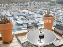 For sale magnificent t1 penthouse in Algarve, in the first line of picturesque Albufeira marina - Portugal Investe%2/10
