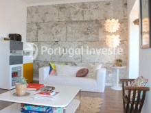 Living room, For sale 2 + 1 bedrooms apartment, river view, fully renewed, 15 minutes from Lisboa - Portugal Investe%4/18