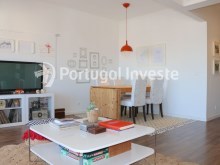 Living room, For sale 2 + 1 bedrooms apartment, river view, fully renewed, 15 minutes from Lisboa - Portugal Investe%3/18