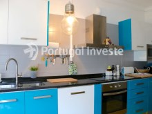 Kitchen, For sale 2 + 1 bedrooms apartment, river view, fully renewed, 15 minutes from Lisboa - Portugal Investe%6/18