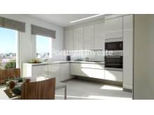 Kitchen - For sale 3 bedrooms apartment, new, box, Liberty Atrium Residence, 10 minutes from Lisbon downtown - Portugal Investe%4/17