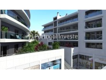 Balconies and garden - For sale 2 bedrooms apartment, new, box, Liberty Atrium Residence, 10 minutes from Lisbon downtown - Portugal Investe%3/18
