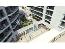 Air view - For sale 2 bedrooms apartment, new, box, Liberty Atrium Residence, 10 minutes from Lisbon downtown - Portugal Investe%6/18