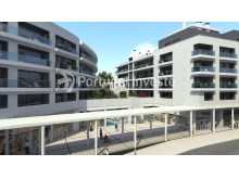 Frontage, For sale 4 bedrooms apartment, new, box, Liberty Atrium Residence, 10 minutes from Lisbon downtown - Portugal Investe%11/17