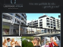 Enterprise advertisement - For sale 2 bedrooms apartment, new, box, Liberty Atrium Residence, 10 minutes from Lisbon downtown - Portugal Investe%1/19