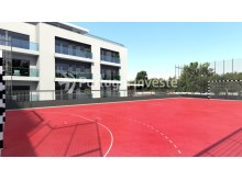 Playing field - For sale 2 bedrooms apartment, new, box, Liberty Atrium Residence, 10 minutes from Lisbon downtown - Portugal Investe%1/17