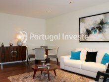 Living room, For sale 3 bedrooms apartment, new, box, Liberty Atrium Residence, 10 minutes from Lisbon downtown - Portugal Investe%3/21
