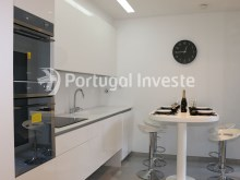 Kitchen, For sale 3 bedrooms apartment, new, box, Liberty Atrium Residence, 10 minutes from Lisbon downtown - Portugal Investe%10/21