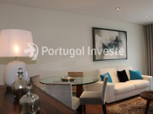 Living room, For sale 3 bedrooms apartment, new, box, Liberty Atrium Residence, 10 minutes from Lisbon downtown - Portugal Investe%4/21