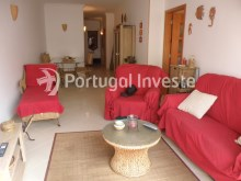 Living room with dinning area, 2 bedrooms apartment with barbecue and parking - Portugal Investe%3/12