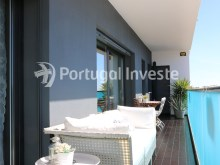Balcony, For sale 2 bedrooms apartment, garage box, Liberdade Atrium enterprise, 10 minutes away from Lisbon - Portugal Investe%24/26