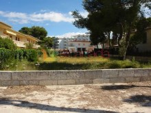 Urban plot in second line of Puerto de Alcudia beach_14%14/19
