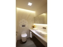 S Miguel Residence interior WC comun foto 3D%7/10