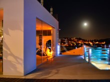 night view 7 bedroom villa in Ericeira with garden and swimmingpool%15/17