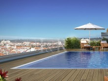 LUXURY 2 BEDROOM APARTMENT WITH BALCONY AND POOL NEAR THE FRENCH SCHOOL, LISBON%1/6