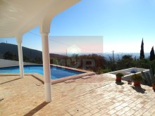 House 3 bedrooms detached villa with pool and sea view, in Estoi-swimming pool with sea view and field%2/21